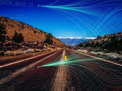 Origin-and-destination study using big data in California